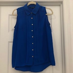 3 for $15 | Sleeveless Collared Button up Blouse